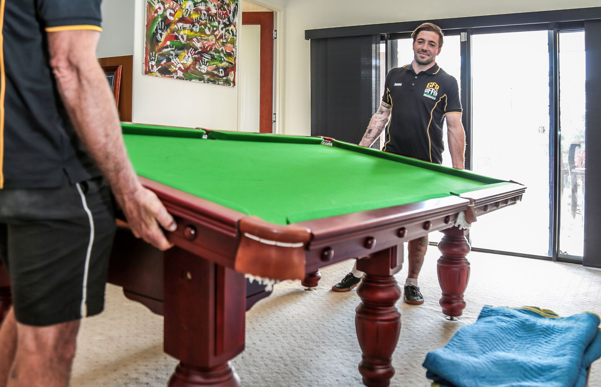 Picture of: Pool Table Removals Brisbane Northside Giffen Removals