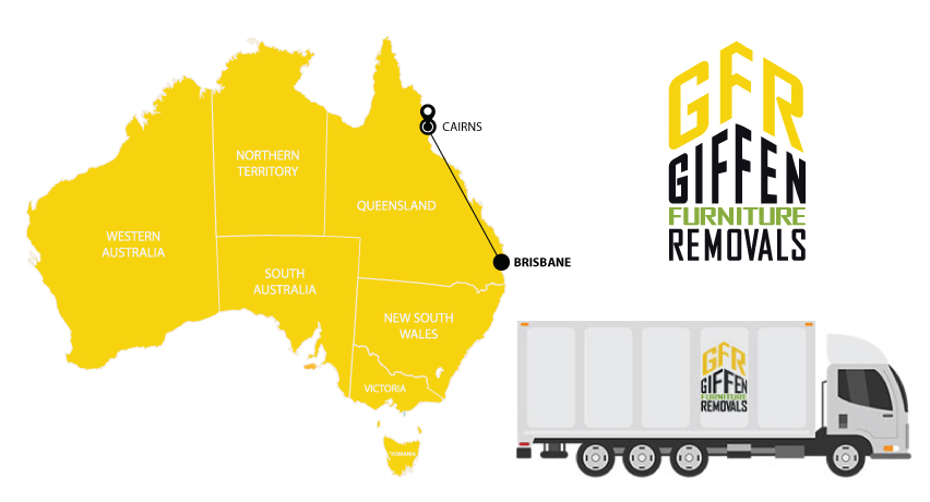 Brisbane to Cairns Interstate Backloading Removals Service