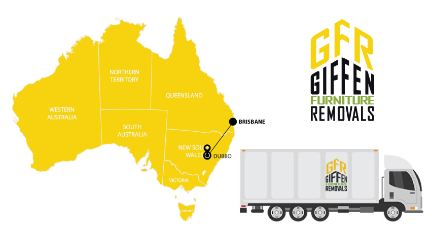 Brisbane to Dubbo Interstate Backloading Removals Service