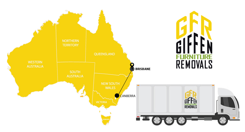 Canberra to Brisbane Interstate Backloading Removals Service