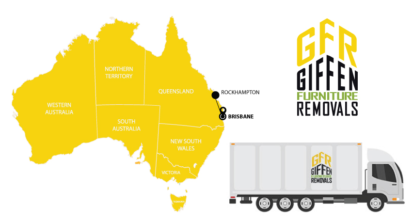 Rockhampton to Brisbane Interstate Backloading Removals Service
